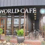 [グルメ]ワールドカフェ アルプス通り店のランチ限定「ベーコン黒カレー」